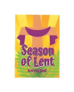 Season of Lent Activity Books