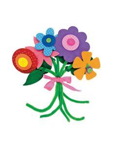 Self-adhesive Flower Bouquet Craft Kit