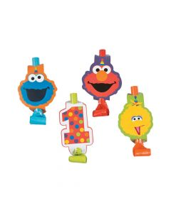 Sesame Street Elmo Turns One Blowouts
