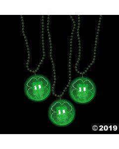 Shamrock Light-up Necklaces