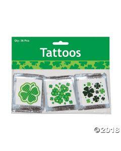 Shamrock Patterned Tattoos