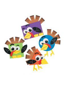 Shape Turkey Craft Kit