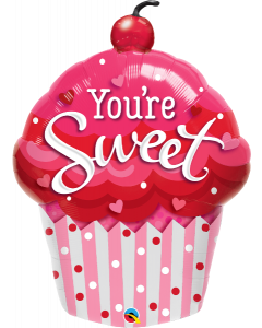 Shape You Are Sweet Cupcake Foil Balloon
