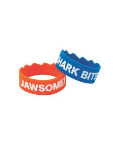 Shark Bite Rubber Bracelets
