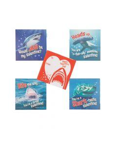 Shark Valentine's Day Sticker Sheets