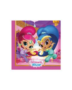Shimmer and Shine Glitter Friends Napkins