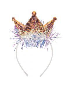 Shimmer Tinsel Tiara Headbands