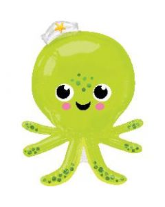 Silly Octopus Supershape Foil Balloon