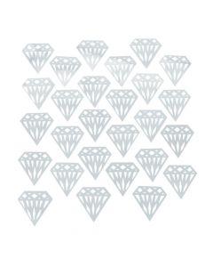 Silver Diamond Confetti