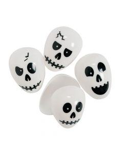 Skull Plastic Easter Eggs