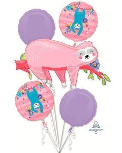Sloth Balloon Bouquet