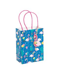 Small Flamingo and Cactus Gift Bags
