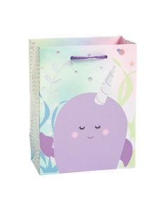 Small Narwhal Party Gift Bags