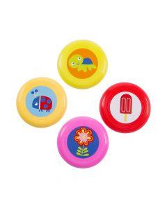 Snappy Spring Mini Flying Discs