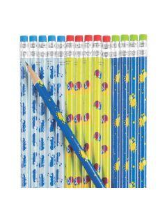 Snappy Spring Pencils - 24 Pc.