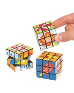 Snappy Spring Puzzle Cubes