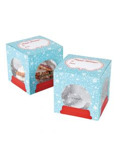 Snow Globe Cookie Boxes