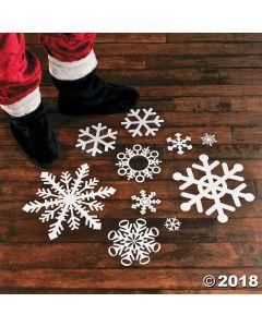 Snowflake Floor Decals