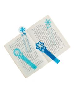 Snowflake Ruler Bookmarks