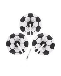Soccer Ball Paper Folding Fans