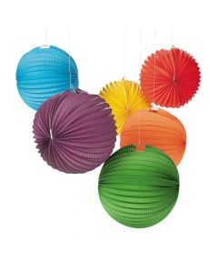 Solid Color Balloon Hanging Paper Lanterns