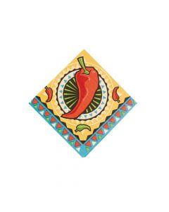 Southwest Chilies Beverage Napkins