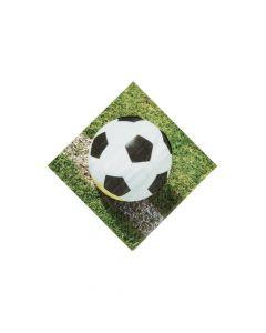 Sports Fanatic Soccer Beverage Napkins
