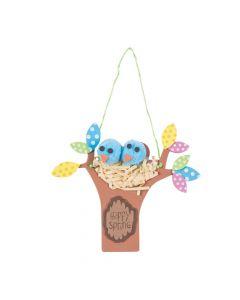 Spring Bird Nest Sign Craft Kit