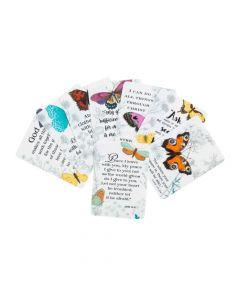 Spring Butterfly Faith Wallet Card Assortment