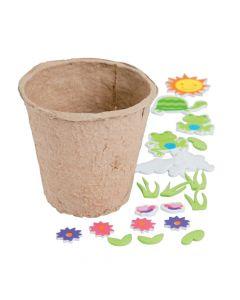 Spring Character Flower Pot Craft Kit
