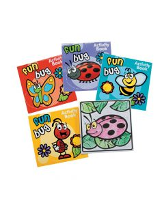 Spring Fun and Games Activity Books