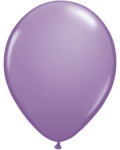 Spring Lilac 12cm Plain Round Latex Balloon