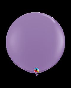 Spring Lilac 91cm Plain Round Latex Balloon