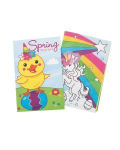 Spring Sticker Books