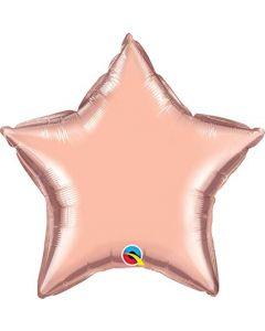 Star Rose Gold Foil Balloon