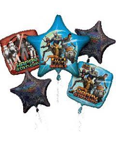 Star Wars Rebels Birthday Balloon Bouquet