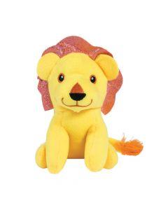 Stuffed Lions with Shiny Mane
