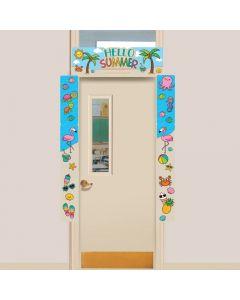 Summer Door Border
