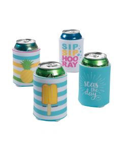 Summer Foam Can Covers