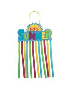 Summer Glitter Hanging Craft Kit
