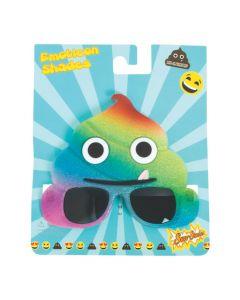 Sun-Staches Rainbow Poop Sunglasses