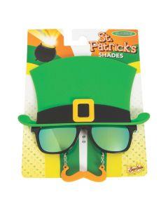 Sun-Staches St. Patrick's Day Sunglasses