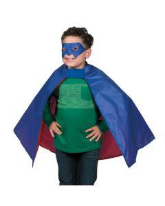Superhero Cape and Mask Set
