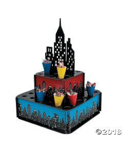 Superhero City Tray with Cones