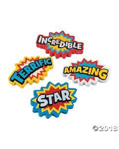 Superhero Erasers