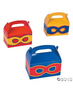 Superhero Favour Boxes