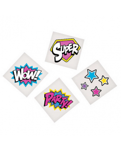 Superhero Girl Tattoos