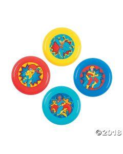 Superhero Mini Flying Discs