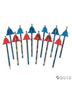 Superhero Pencils with Capes