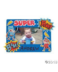 Superhero Picture Frame Craft Kit